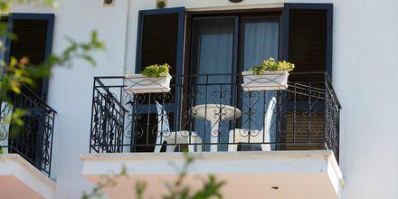Parveke, Hotelli Mega Ammos, Sivota, Kreikka.