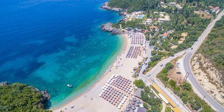 Läheinen ranta, Hotelli Mega Ammos, Sivota, Kreikka.