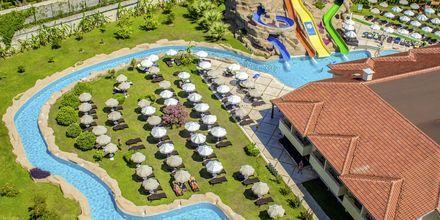 Vesipuisto. Hotelli Melas Holiday Village, Side, Turkki.
