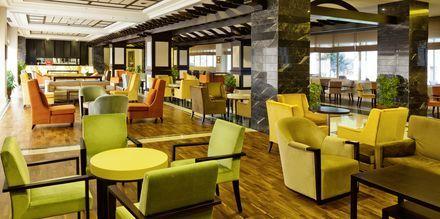 Lounge. Hotelli Melas Resort, Side, Turkki.