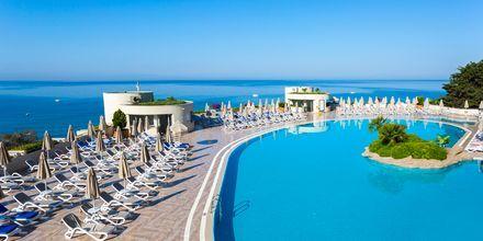 Allasalue. Hotelli Melas Resort, Side, Turkki.