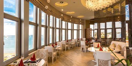 Ravintola. Hotelli Melas Resort, Side, Turkki.