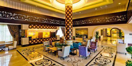 Aula. Hotelli Melas Resort, Side, Turkki.