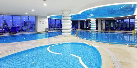 Sisäallas. Hotelli Melas Resort, Side, Turkki.