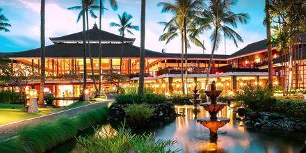 Ilta, hotelli Melia Bali Villas & Spa. Nusa Dua, Bali.