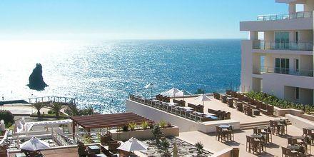 Kaunis näkymä hotellila Melia Madeira Mare, Funchal, Madeira.