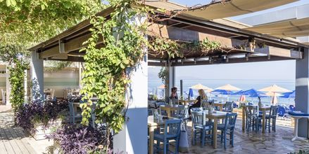 Taverna. Hotelli Melina Beach, Platanias, Kreeta, Kreikka.