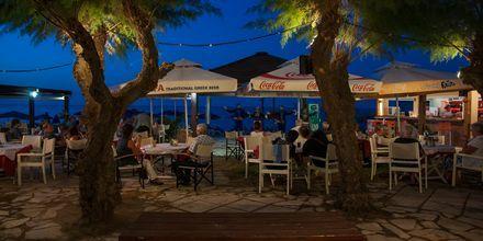 Kreetalainen iltapäivä. Hotelli Melina Beach, Platanias, Kreeta, Kreikka.