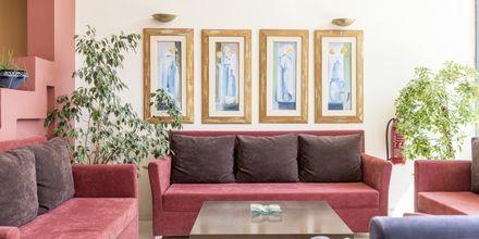 Aula. Hotelli Melmar, Rethymnonin kaupunki, Kreeta, Kreikka.