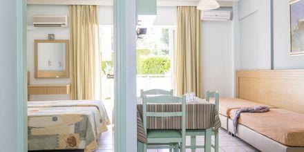 Kaksio. Hotelli Melmar, Rethymnonin kaupunki, Kreeta, Kreikka.