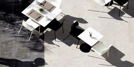 Kahvila, Hotelli Melrose, Rethymnonin kaupunki, Kreeta.