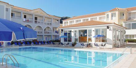 Allasalue. Hotelli Meridien Beach, Zakynthos.