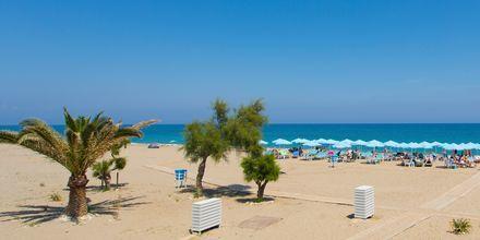 Läheinen ranta, Hotelli Minos Mare, Rethymnon, Kreeta.