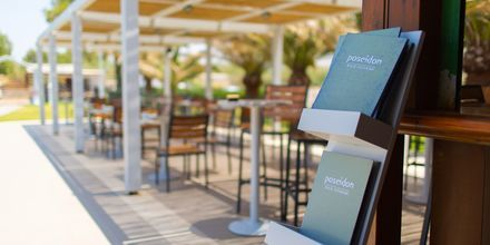 A la carte-ravintola, Hotelli Minos Mare, Rethymnon, Kreeta.