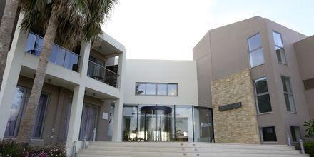 Sisäänkäynti, Hotelli Minos Mare Royal, Rethymnonin rannikko, Kreeta.