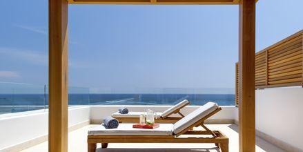Juniorsviitti. Hotelli Mitsis Alila Resort & Spa, Rodos, Kreikka.