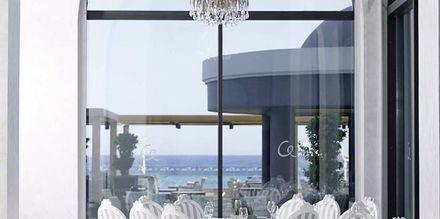 Pääravintola. Hotelli Mitsis Alila Resort & Spa, Rodos, Kreikka.