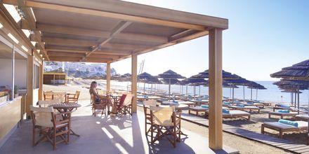Läheinen ranta. Hotelli Mitsis Blue Domes Resort & Spa, Kos, Kreikka.