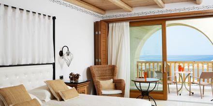 Kahden hengen huone, Hotelli Mitsis Blue Domes Resort & Spa, Kos, Kreikka.