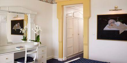 Yhden hengen huone, Mitsis Grand Hotel, Rodos, Kreikka.