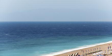 Läheinen ranta, Mitsis Grand Hotel, Rodos, Kreikka.