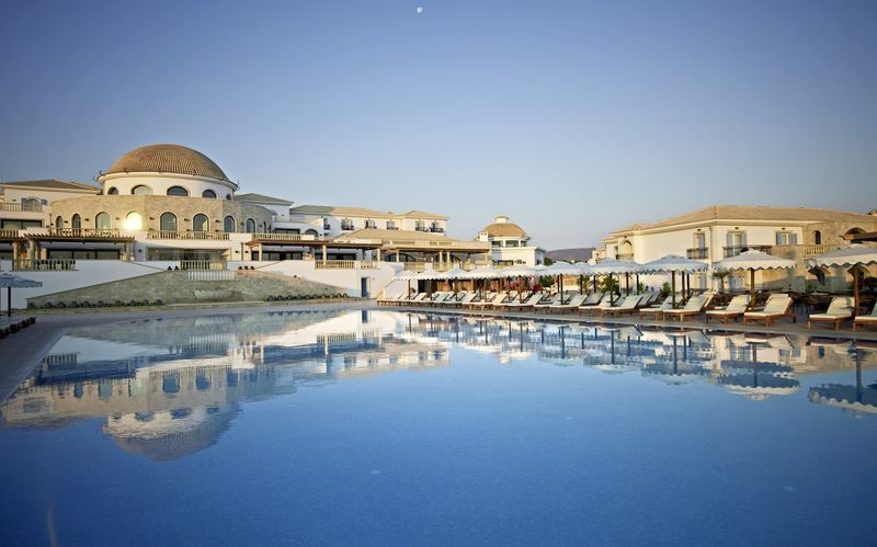 Allasalue, Hotelli Laguna Resort Mitsis Hotels, Anissaras, Kreeta