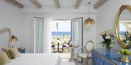 Kahden hengen huone, Hotelli Laguna Resort Mitsis Hotels, Anissaras, Kreeta