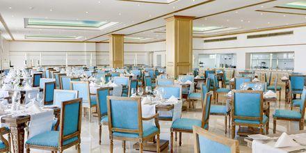 Buffetravintola, Hotelli Laguna Resort Mitsis Hotels, Anissaras, Kreeta