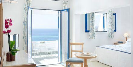 Perhehuone. Hotelli Mitsis Norida Beach Hotel, Kos, Kreikka.