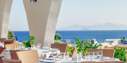 Pääravintola, Hotelli Mitsis Norida Beach Hotel, Kos, Kreikka.