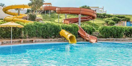Vesiliukumäkiä, Hotelli Mitsis Norida Beach Hotel, Kos, Kreikka.