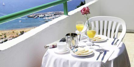 Näkymä parvekkeelta. Hotelli Monteparaiso, Puerto Rico, Gran Canaria.