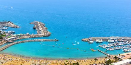 Näkymä hotelli Monteparaisosta. Puerto Rico, Gran Canaria.