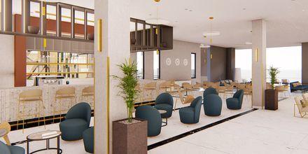 Havainnekuva baarista. Hotelli Myrion Beach Resort, Gerani, Kreeta, Kreikka.