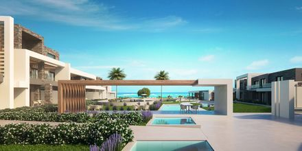 Hotelli Myrion Beach Resort, Gerani, Kreeta, Kreikka.