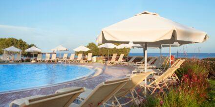 Rauhallinen allas. Hotelli Mythos Beach Resort, Afandou, Rodos.