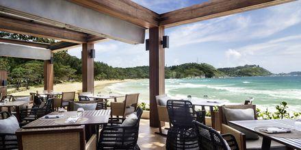 Rantaravintola. Nai Harn Beach, Phuket.