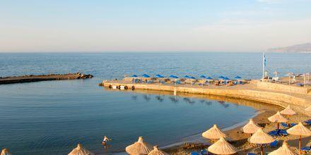 Auringonlasku rannalla, Hotelli Nana Golden Beach, Hersonissos,Kreeta, Kreikka.