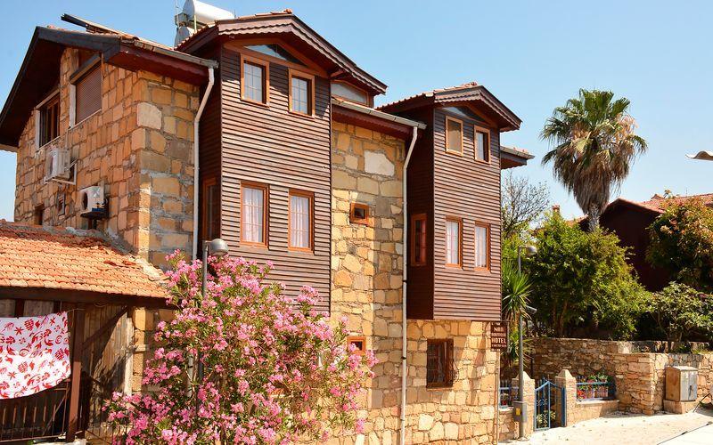 Hotelli Nar Pension. Side, Turkki.