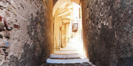 Kuja Kastron linnoituksessa, Naxoksen kaupunki