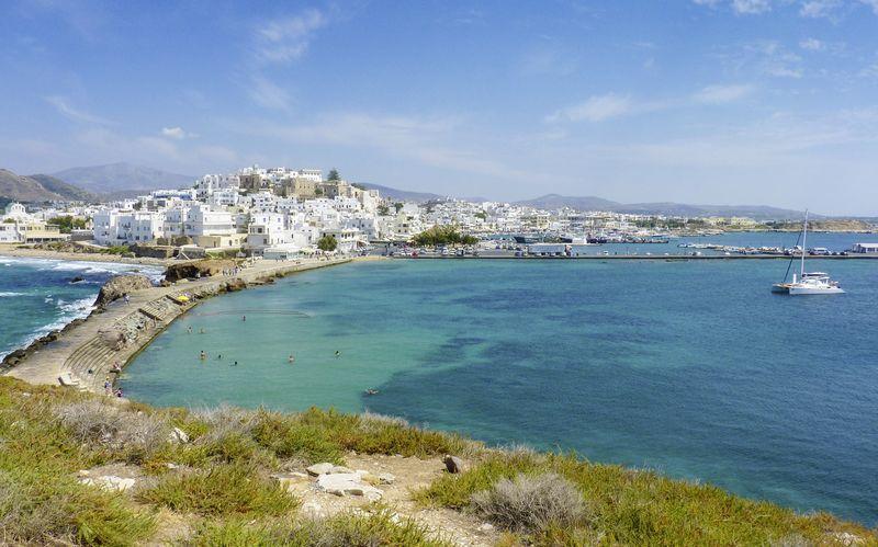 Naxoksen kaupunki, Naxos, Kreikka