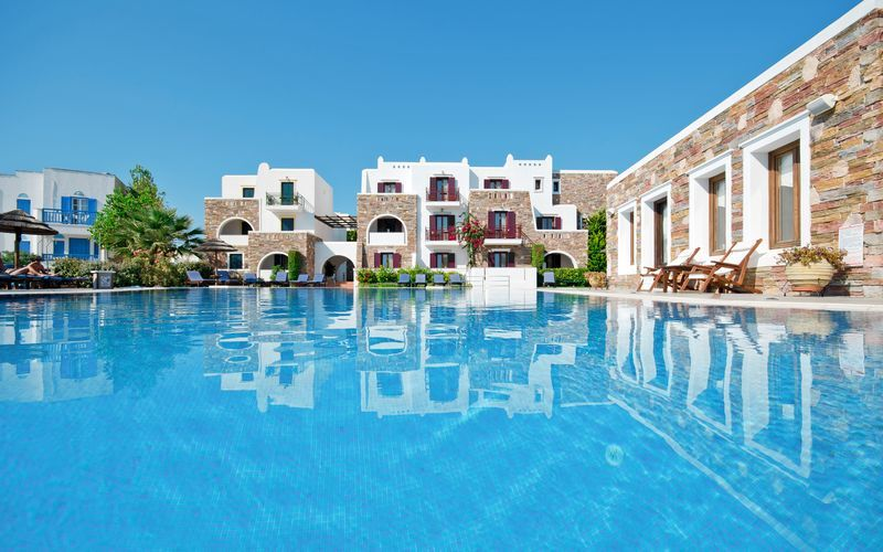Allasalue, Naxos Resort, Kreikka