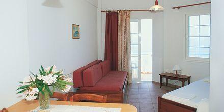 Yksiö, hotelli Nereides. Agios Gordis, Korfu.