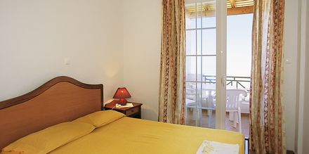 Kaksio, hotelli Nereides. Agios Gordis, Korfu.