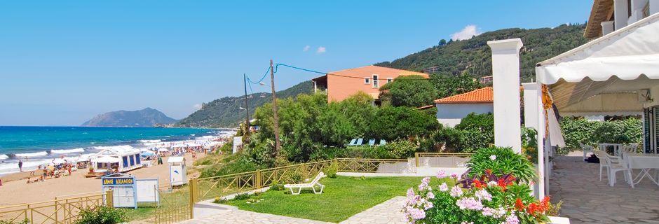 Hotelli Nereides, Agios Gordis, Korfu.
