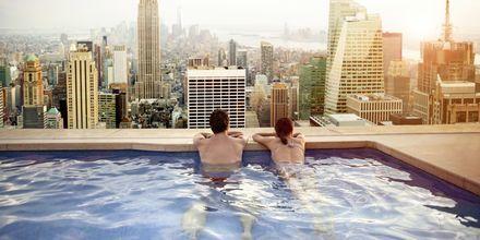 Nauti lomasta suosittelemissamme hotelleissa New Yorkissa.