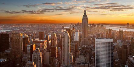New York – kaupunki, joka ei koskaan nuku.