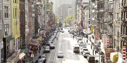 Chinatown New Yorkissa, USA.