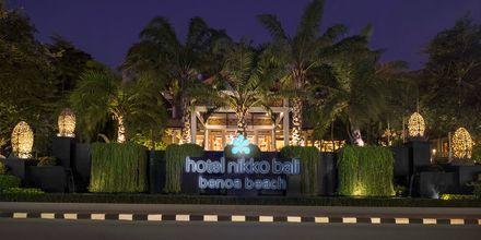 Hotelli Nikko Bali Benoa Beach. Tanjung Benoa, Bali.