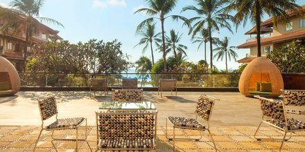 Samudera lounge, hotelli Nikko Bali Benoa Beach. Tanjung Benoa, Bali.